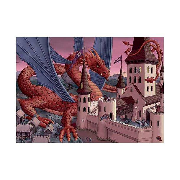 Plakat 50x70cm - Dragen