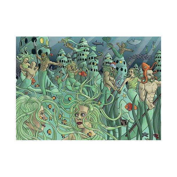 Plakat 50x70cm - Havfolket