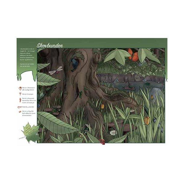 Plakat 50x70cm - Skovbunden m. tekst