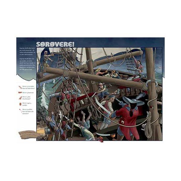 Plakat 50x70cm - Sørøvere m. tekst