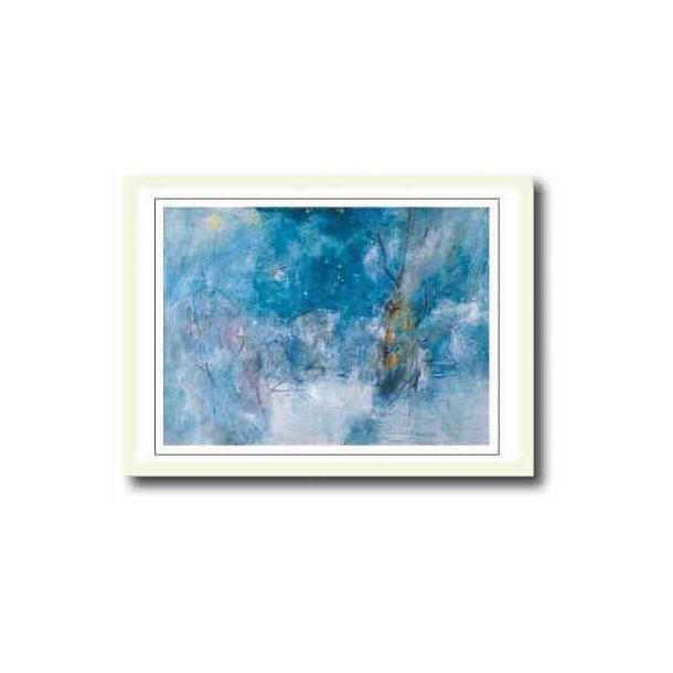 Oluf Høst plakat 30x40cm i hvid ramme