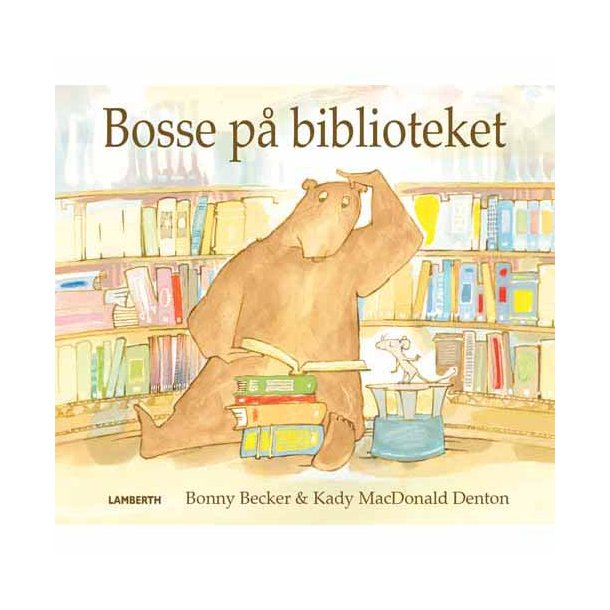 Bosse på biblioteket